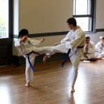 Free sparring grading