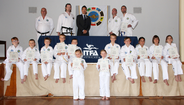 ITFA Sale's First Grading