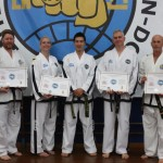 FGMR International Instructor Certificate Recipients with Master Rhee