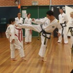 Foot Sparring - counter, consecutive kicking