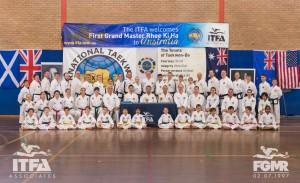 FGMR/ITFA Colour Belt Seminar 2016